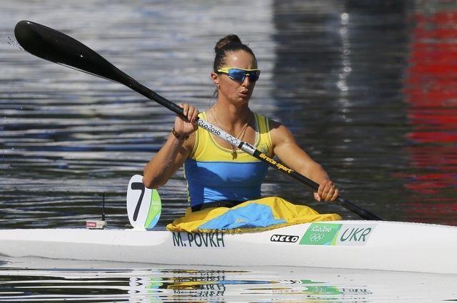 Одна из лидеров сборной Украины Мария Повх / УНИАН