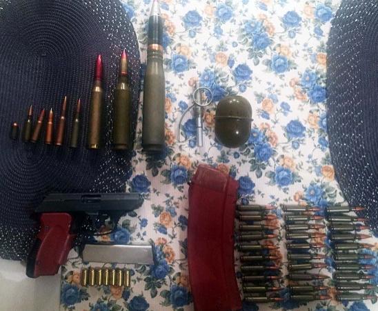 У мужчины также изъяли боеприпасы / полиция Киева