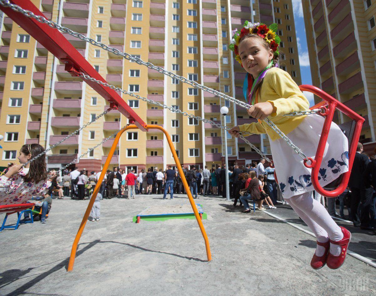 Теперь детские площадки можно строить на зданиях до 15 метров высотой / фото УНИАН