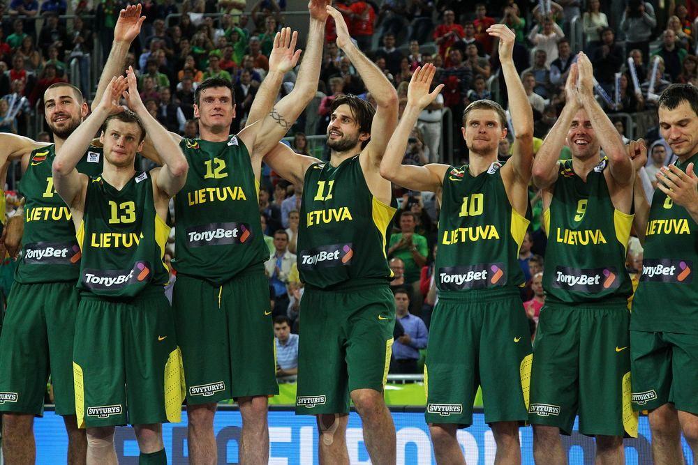 Сборная Литвы завоевала серебро на Евробаскете-2013 / 15min.lt