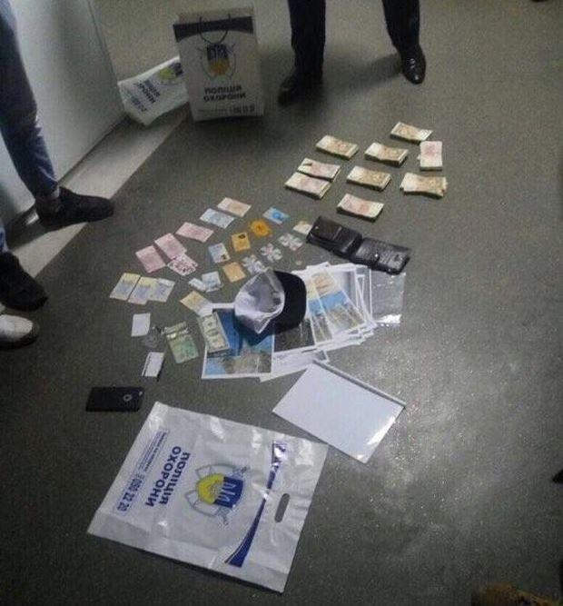 Будник отримав 96 тисяч гривень хабара / фото Служба безпеки України