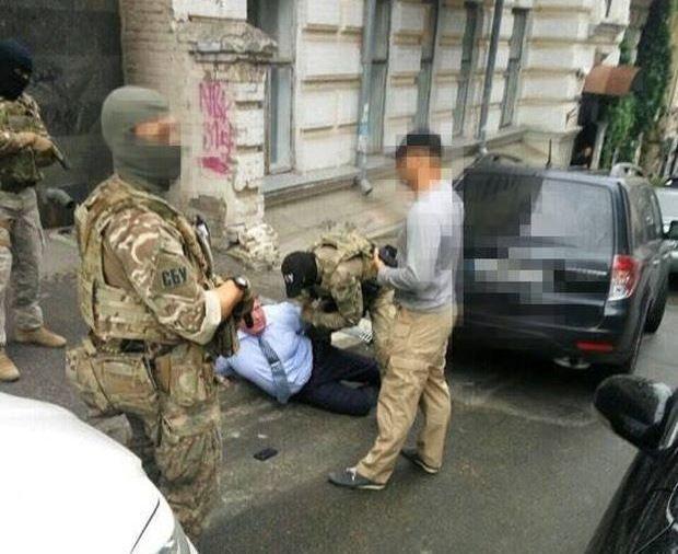 Генерала затримали завдяки спільній роботі СБУ, ГПУ і НПУ / фото Служба безопасности Украины