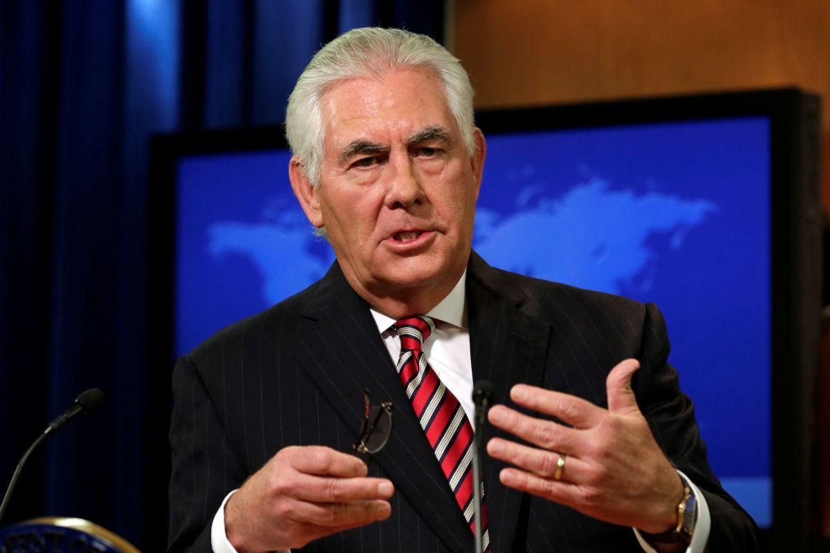 Госсекретарь США Рекс Тиллерсон / REUTERS