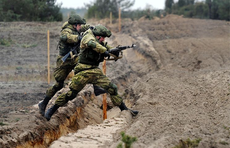 Учения российских военных / фото belvpo.com