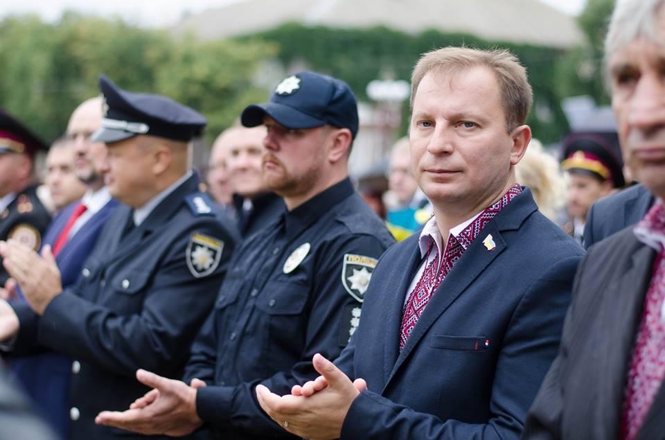 У Тернополі відбулися урочистості з нагоди Дня Державного Прапора / Фото: прес-служба ТОДА
