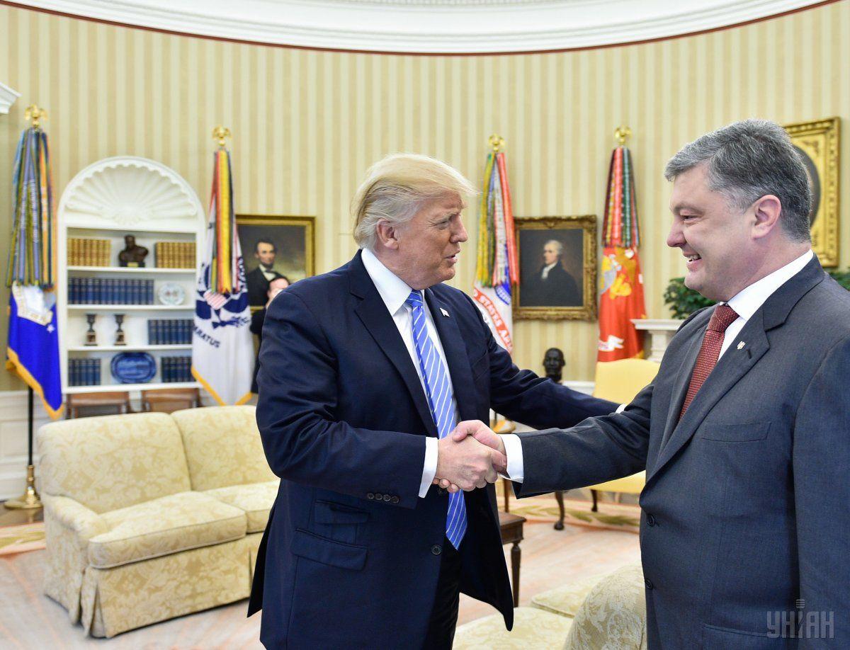 Трамп передал поздравления Порошенко / Фото УНИАН