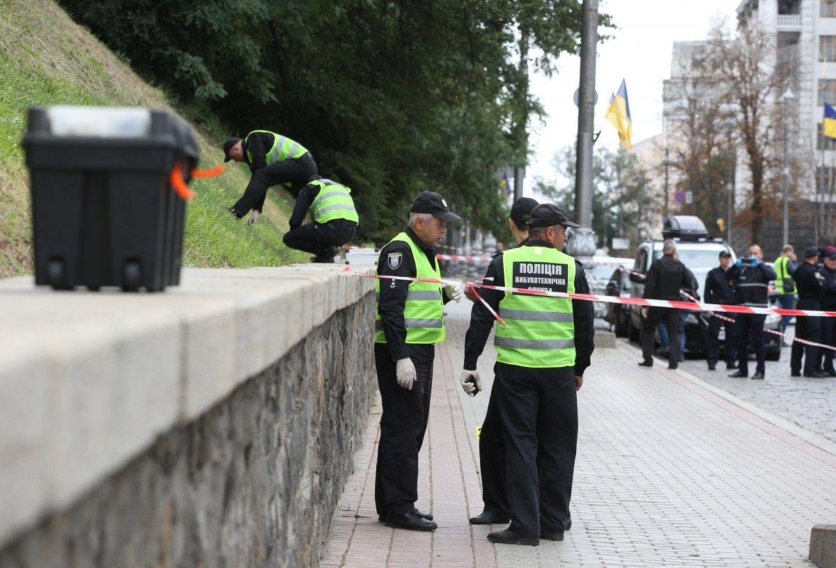 В центре Киева 24 августа прогремел взрыв / фото УНИАН