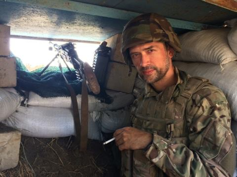 Пашинин воюет на стороне ВСУ на Донбассе / facebook.com/andriy.tsaplienko
