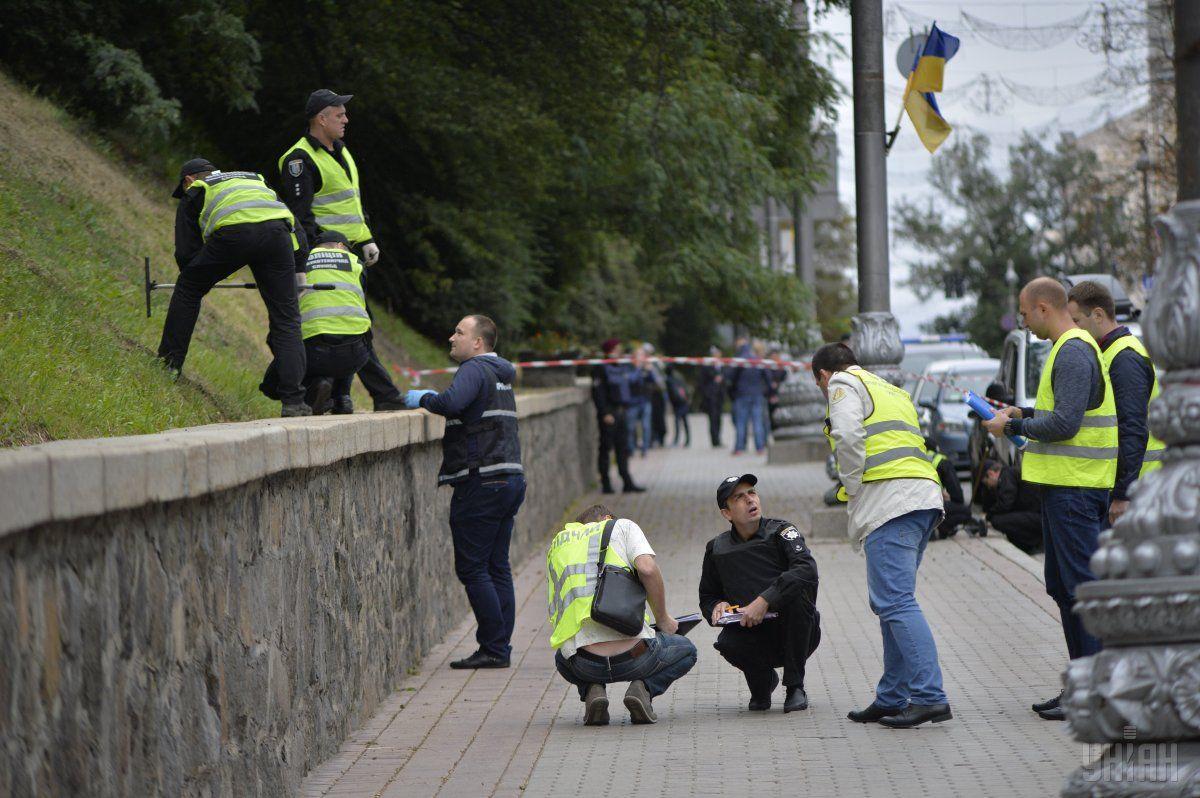Луценко заявил о подозреваемых в деле о взрыве на Грушевского / фото УНИАН