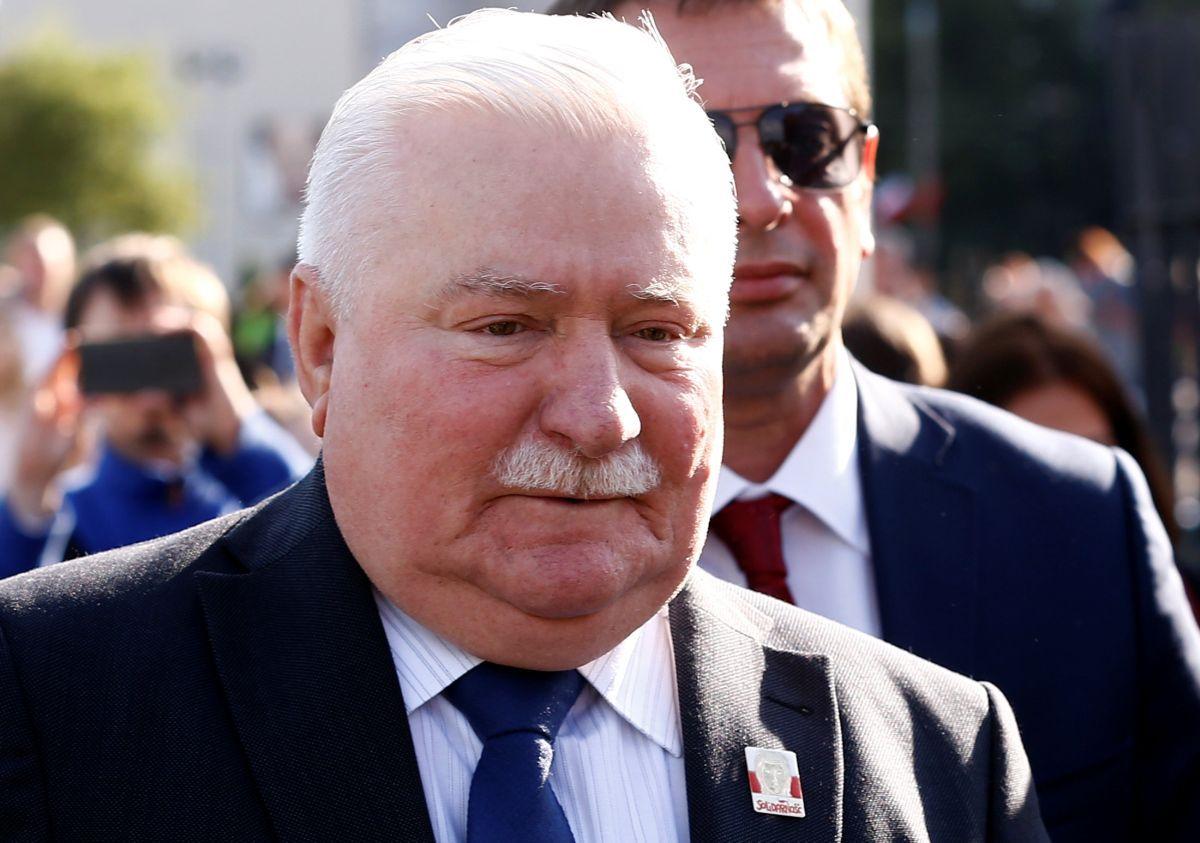 Екс-президент Польщі Валенса потрапив уДТП