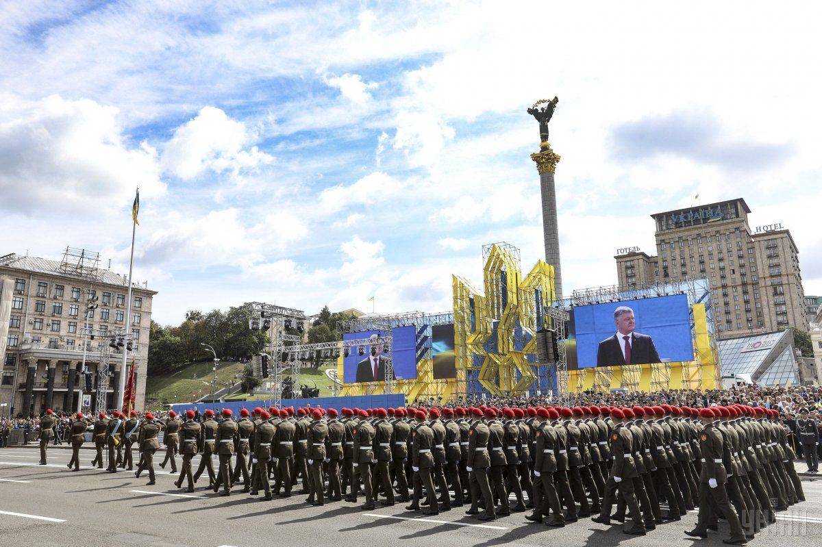 В Киеве в 27-ю годовщину независимости Украины пройдет военный парад/ фото УНИАН