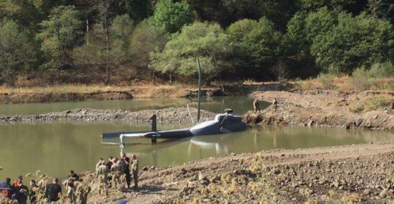 Пожарный вертолет МИ-8 рухнул вБоржомском ущелье