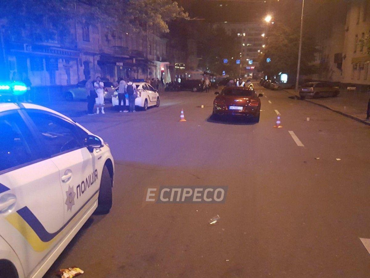 Сын Шуфрича сбил мужчину в Киеве / espreso.tv