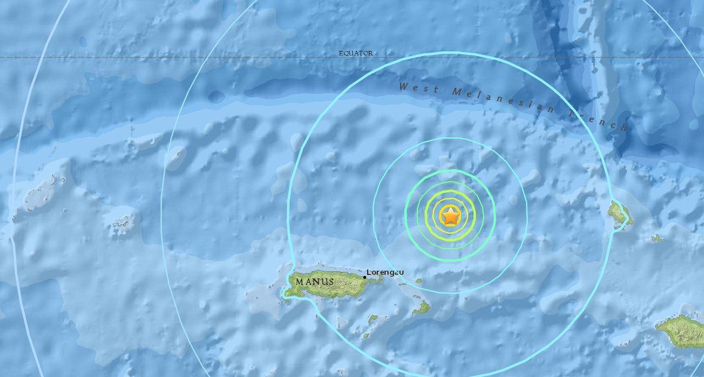 Інформація про постраждалих і руйнування не надходила / earthquake.usgs.gov