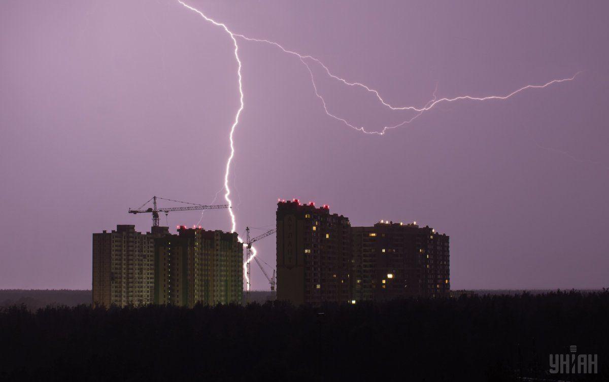 У Києві очікуються грози / фото УНІАН