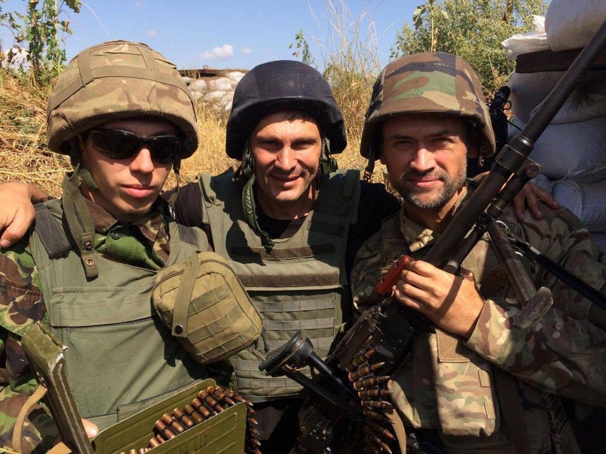 Пашинін воює в АТО на боці України / фото facebook.com/andriy.tsaplienko