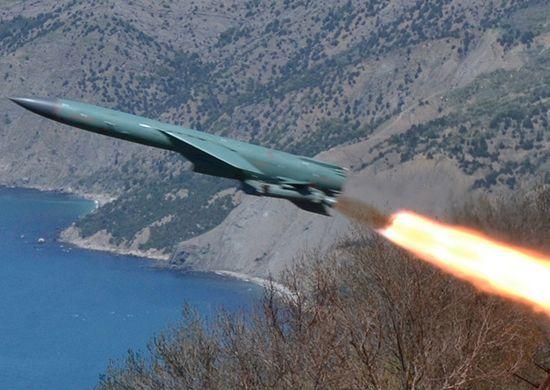 Российская Федерация провела учебный запуск крылатой ракеты воккупированном Крыму