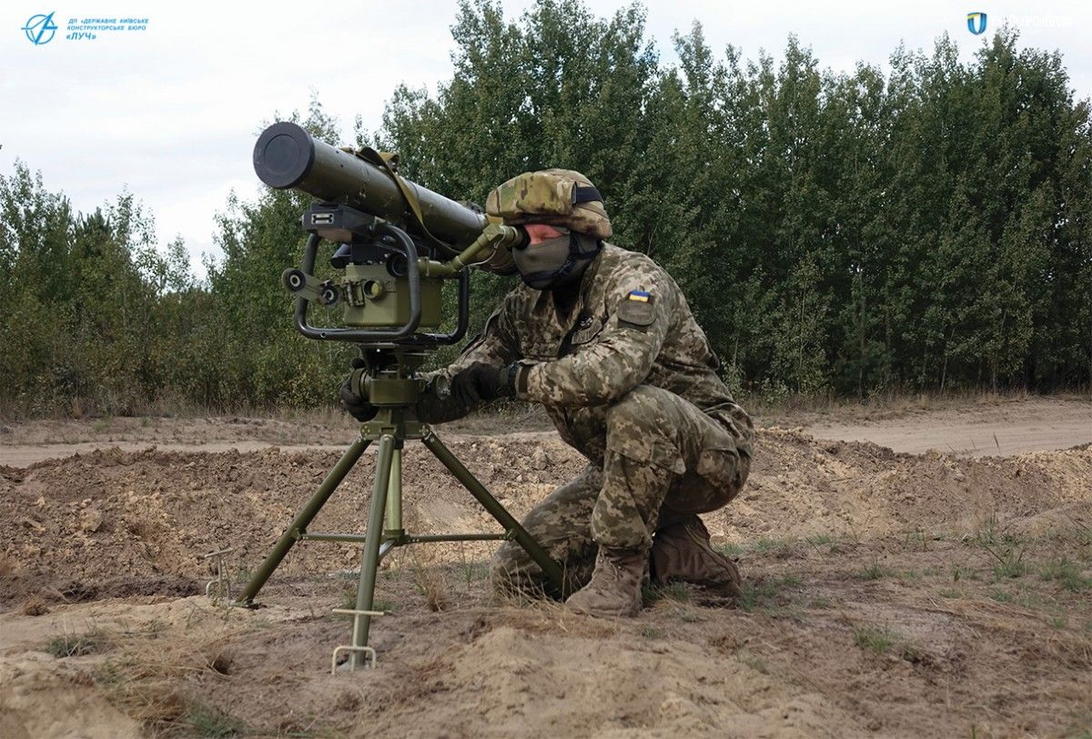 "Протитанковий ракетний комплекс ""Корсар"" / фото ukroboronprom.com.ua"