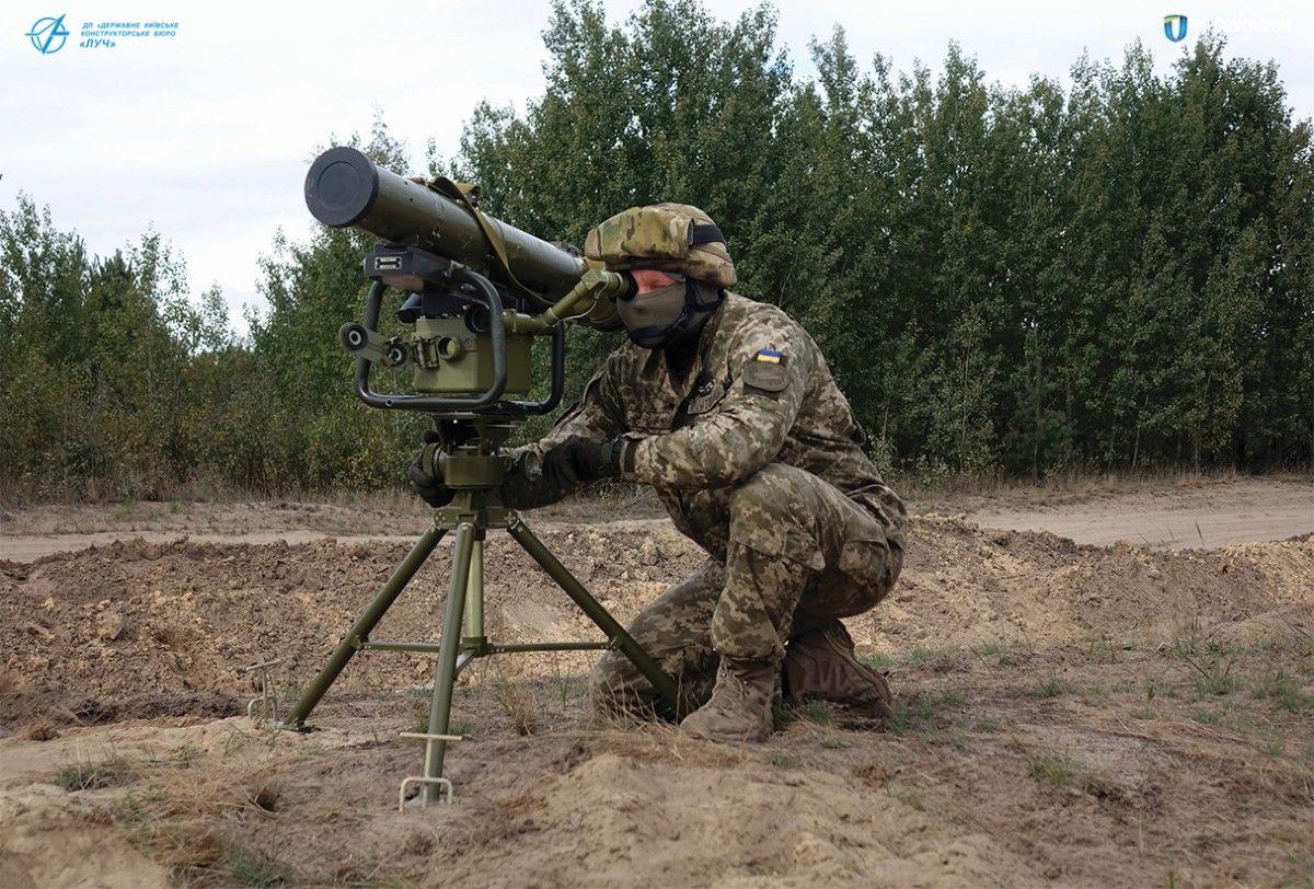 A Ukrainian-developed Korsar system / Photo from ukroboronprom.com.ua