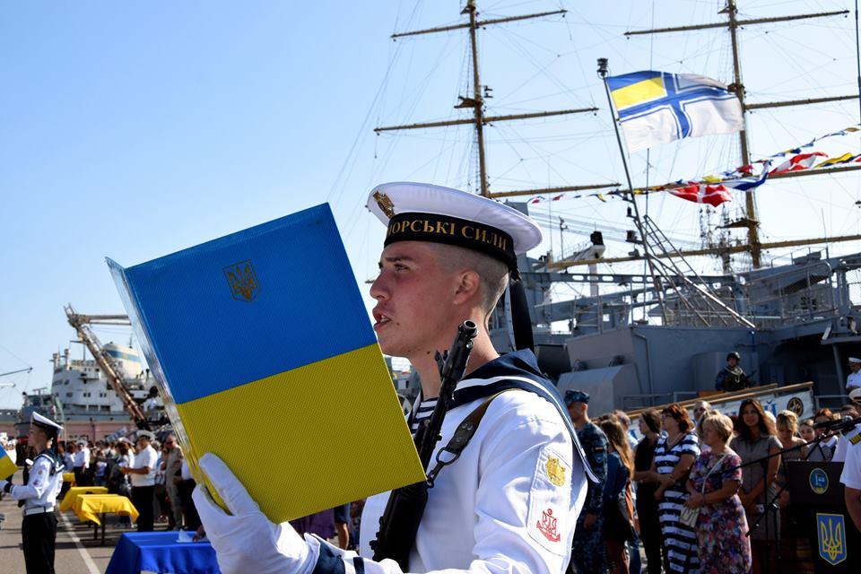 """У Украины есть один флагман — фрегат """"Гетман Сагайдачный"""", который сейчас базируется в Одессе /Facebook"""