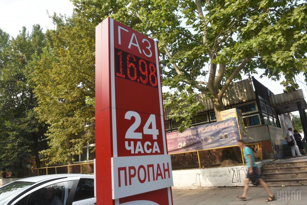 Цены на автогаз на АЗС Украине достигла 16,79 грн за литр / фото УНИАН