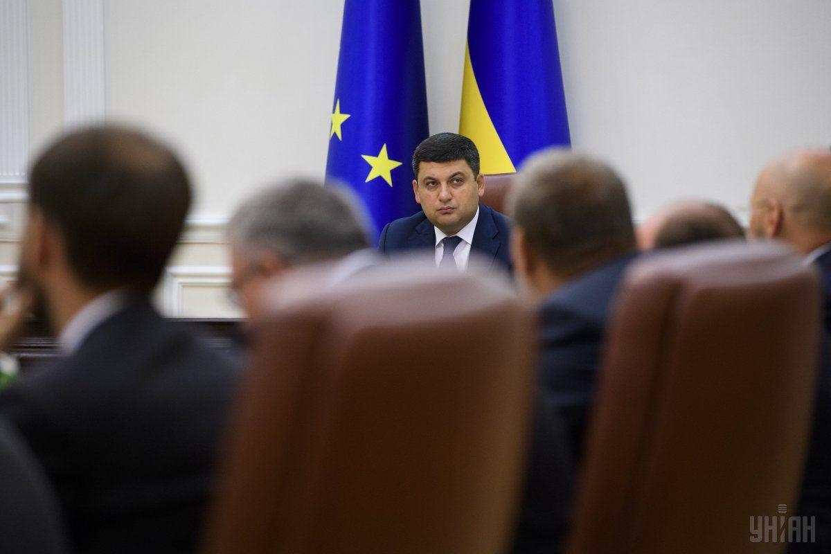 В первую неделю осени работа кипела и в Кабинете министров / Фото УНИАН