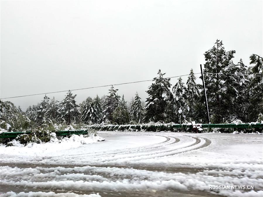 Сніг в Китаї /
