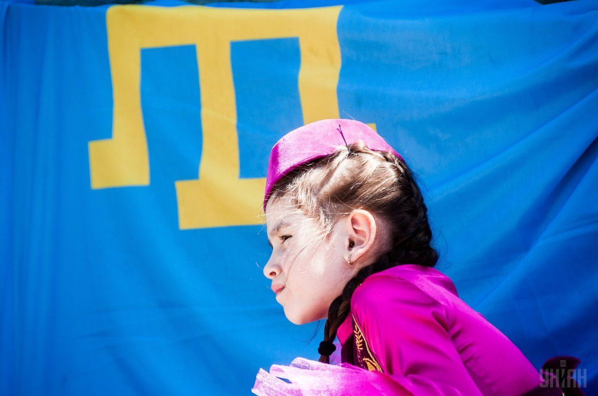 It was dedicated toDay of Remembrance for Victims of Crimean Tatars Genocide / Photo from UNIAN