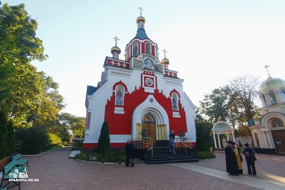 Злодій обчистив храм / фото eparhiya.od.ua