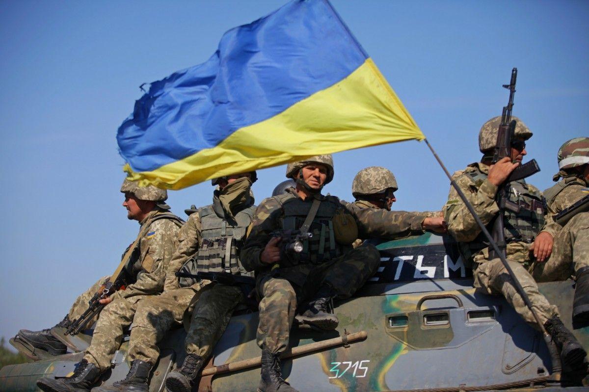 Українські військові знищили одного бойовика \ Міноборони