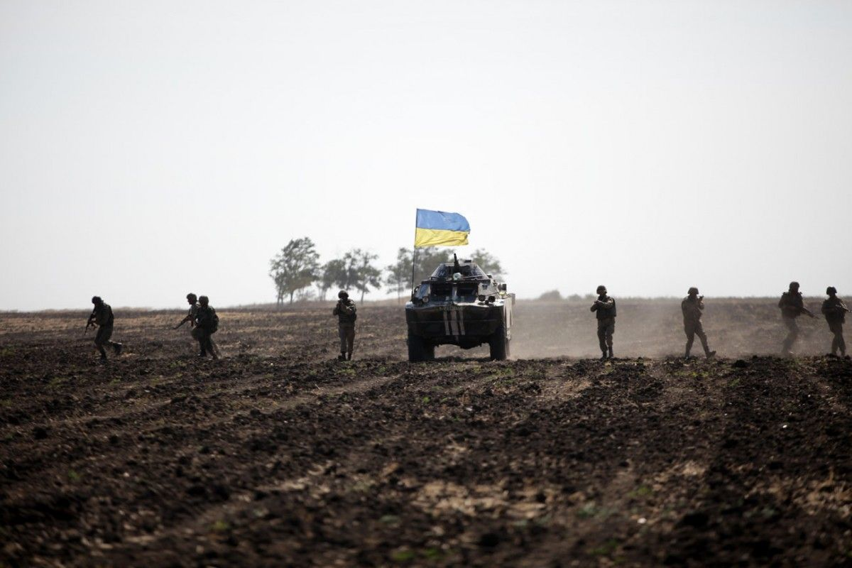 Розведення військ не відбулося через обстрілибойовиків / Міністерство оборони України