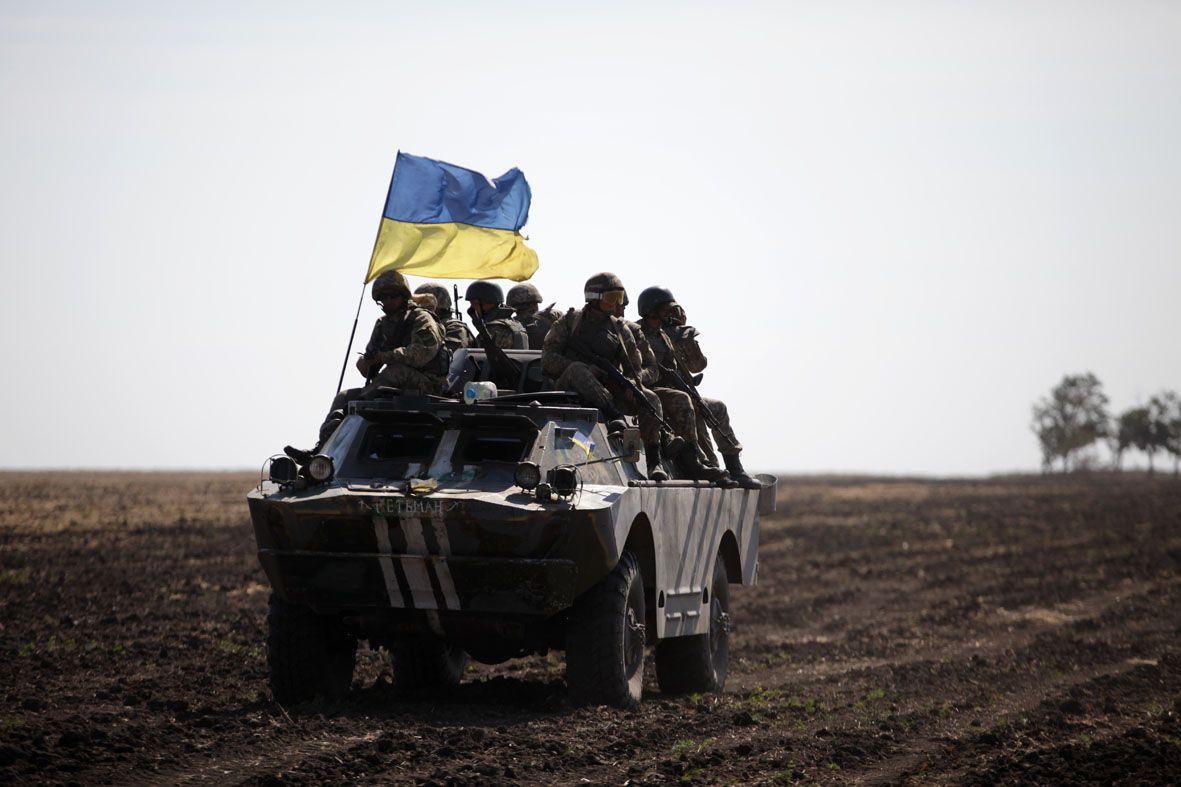 На Донбассе с начала года погиб 21 украинский военный / фото Минобороны Украины