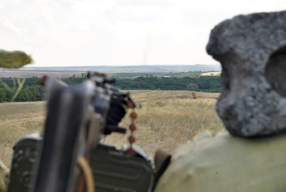 Разведение сил со стороны ВСУи боевиков российско-оккупационных войск в районе Станицы Луганской началось 26 июня / фото Минобороны Украины