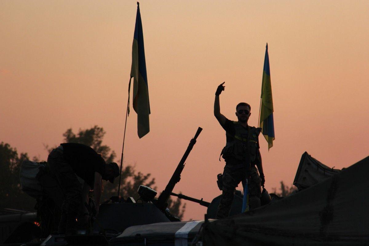 Боевики продолжают обстреливать позиции украинских военных \ Минобороны