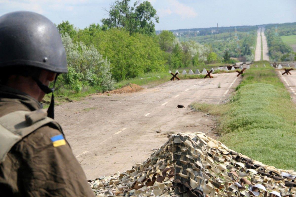 Верховная Рада увеличила территорию Бахмутского района Донецкой области почти на 72 га / фото Минобороны Украины