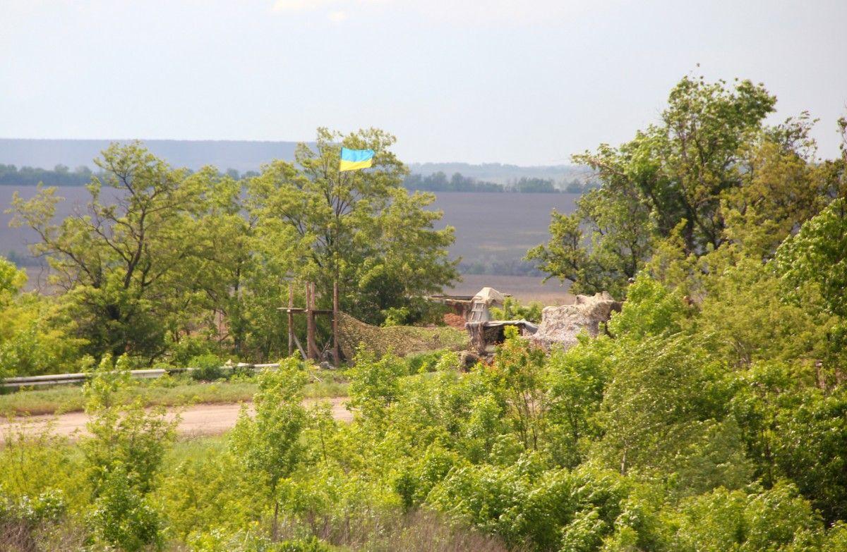 Боевые действия продолжались преимущественно на Донецком направлении / Минобороны