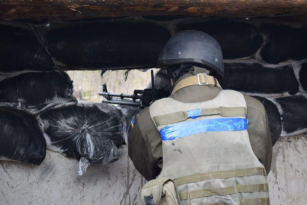 Бойовики вели прицільний вогонь з гранатометів, великокаліберних кулеметів / фото ЗСУ