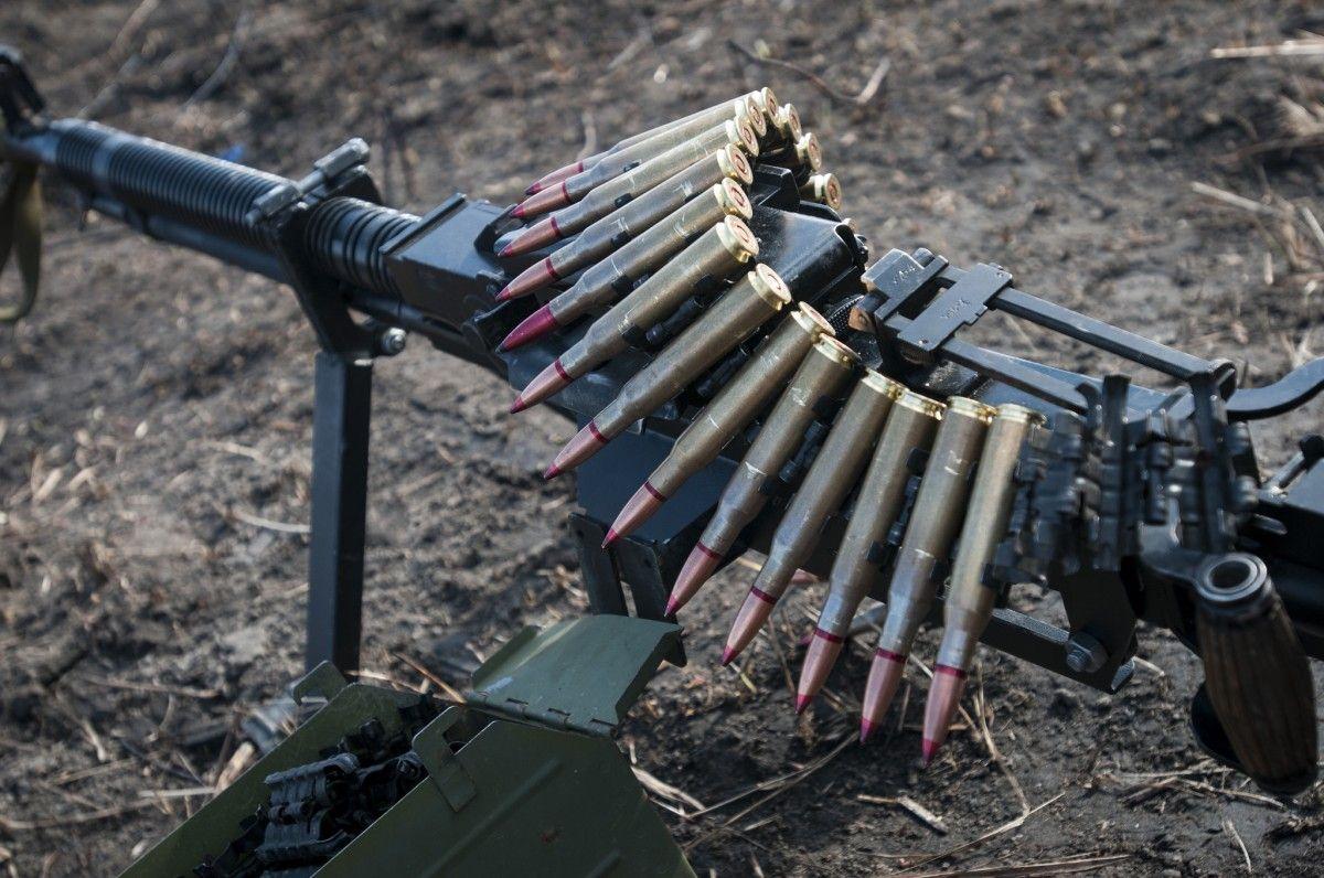 Боевики сегодня 21 раз обстреляли укрепления ВСУ / фото Минобороны Украины