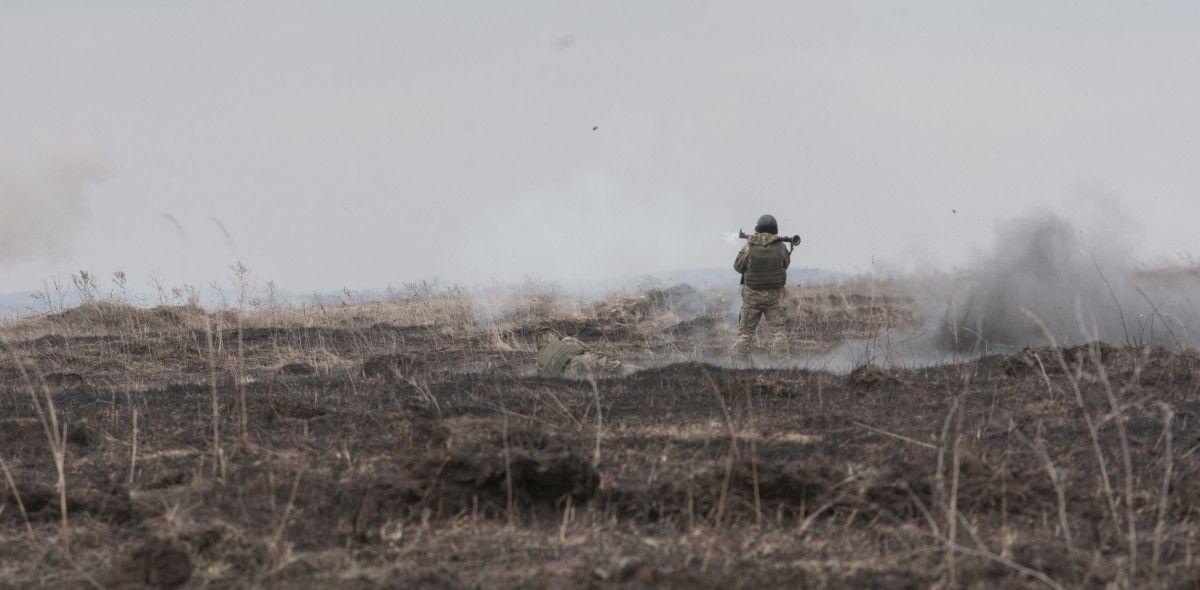 Бойовики продовжують використовувати заборонену Мінськими угодами зброю / Міністерство оборони України