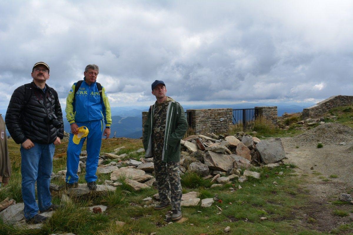 Представники Мінприроди відвідали обсерваторію на горі Піп Іван / фото menr.gov.ua
