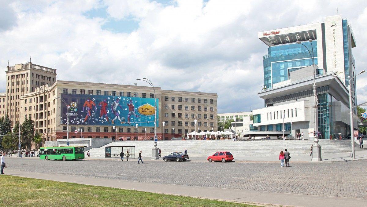 Отель, где поселят делегацию / фото Premier Palace Hotel Kharkiv 5*