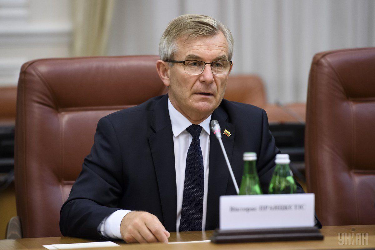 Викторас Пранцкетіс заверил, что Вильнюс был и остается адвокатом Украины / фото УНИАН