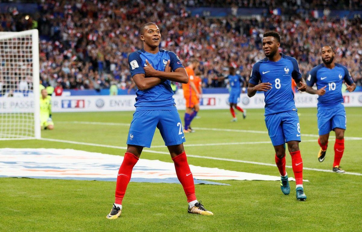 Збірна Франції розгромила Нідерланди в матчі відбору ЧС / Reuters