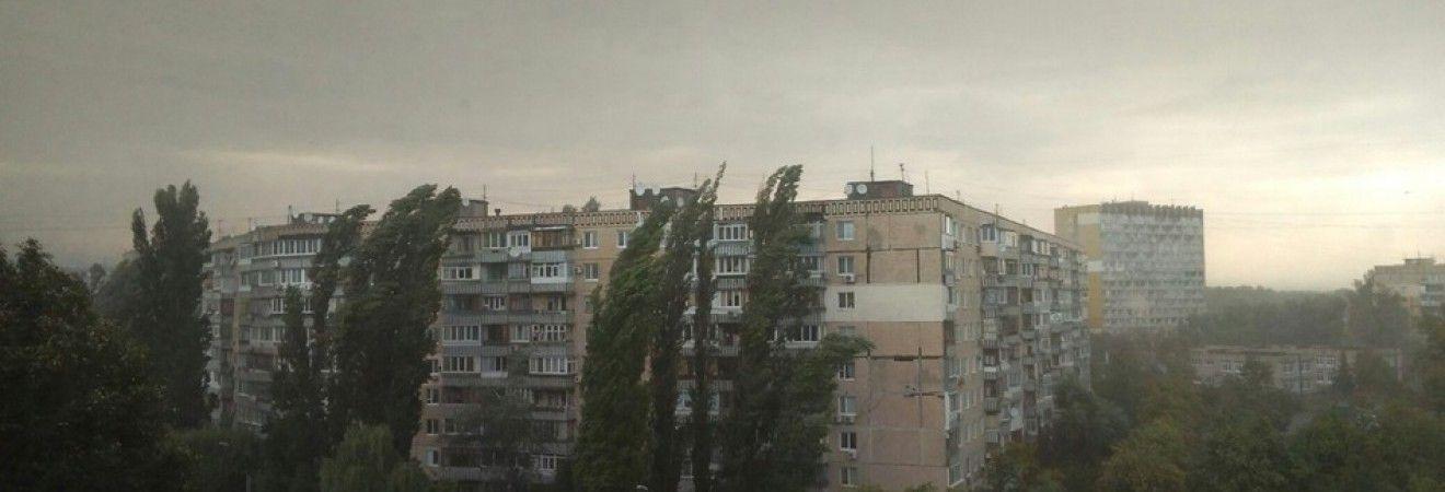 У Дніпрі вирує буря (фоторепортаж, відео)
