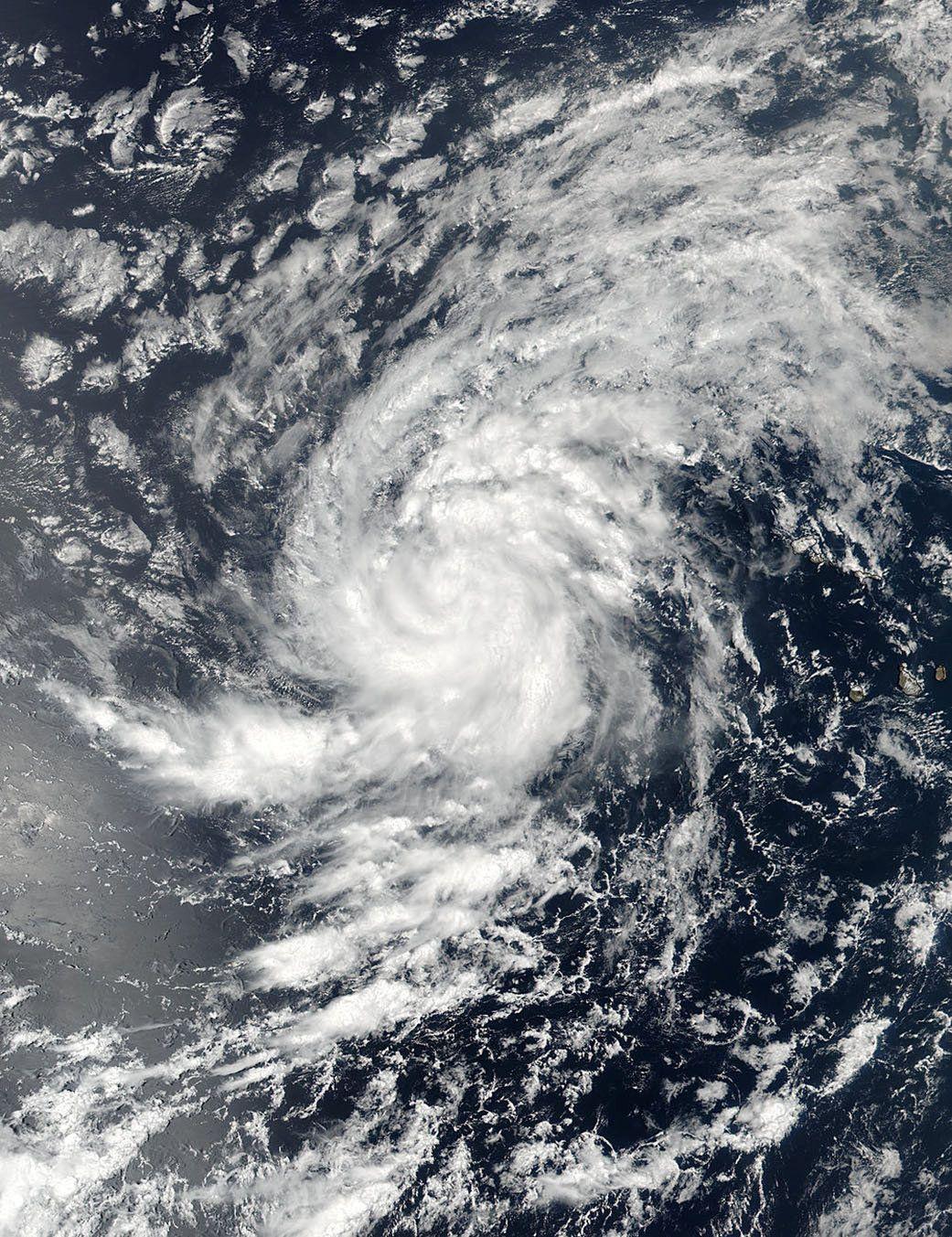 Знімок урагану