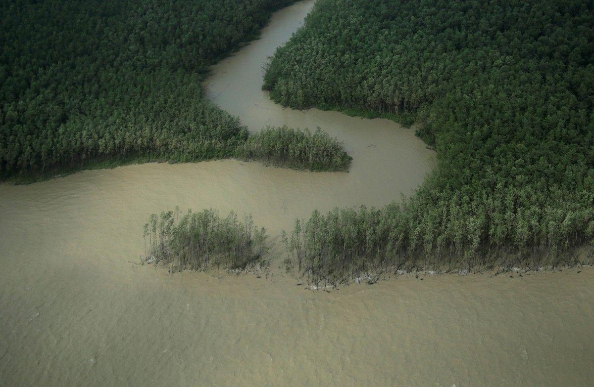 Только 3% воды на планете является пресной / фото REUTERS