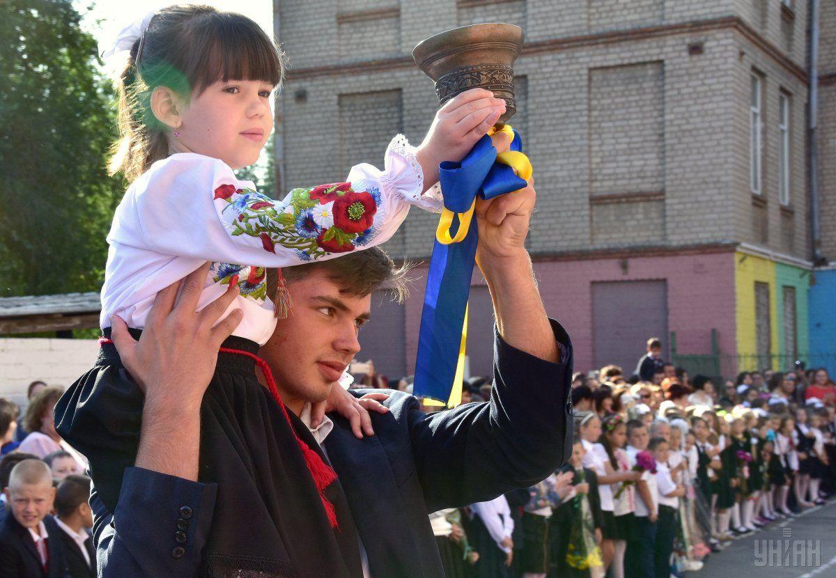 Український закон про освіту не сподобався кільком країнам / фото УНІАН