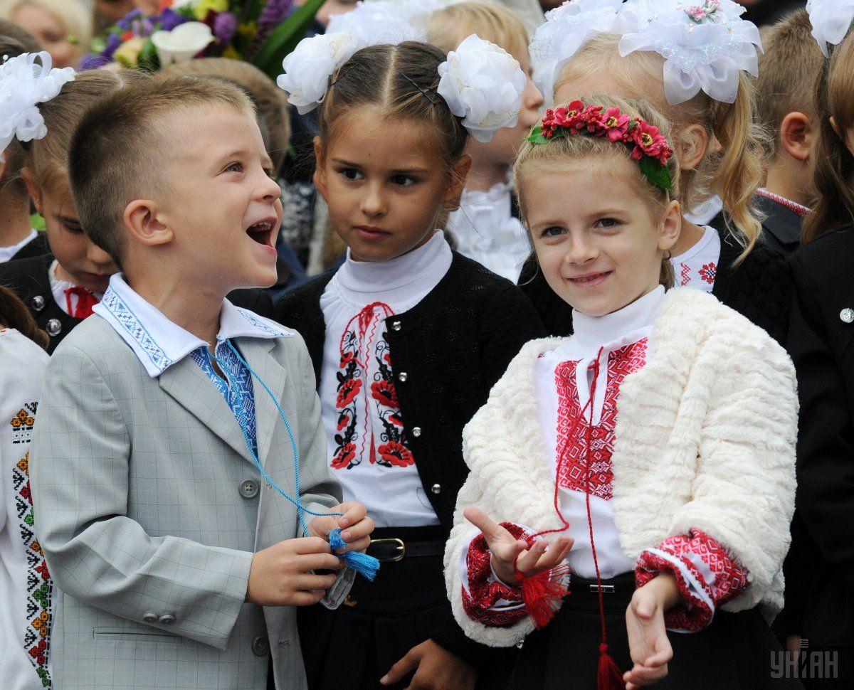 Новим законом в Україні мовою освітнього процесу визначена українська / фото УНІАН