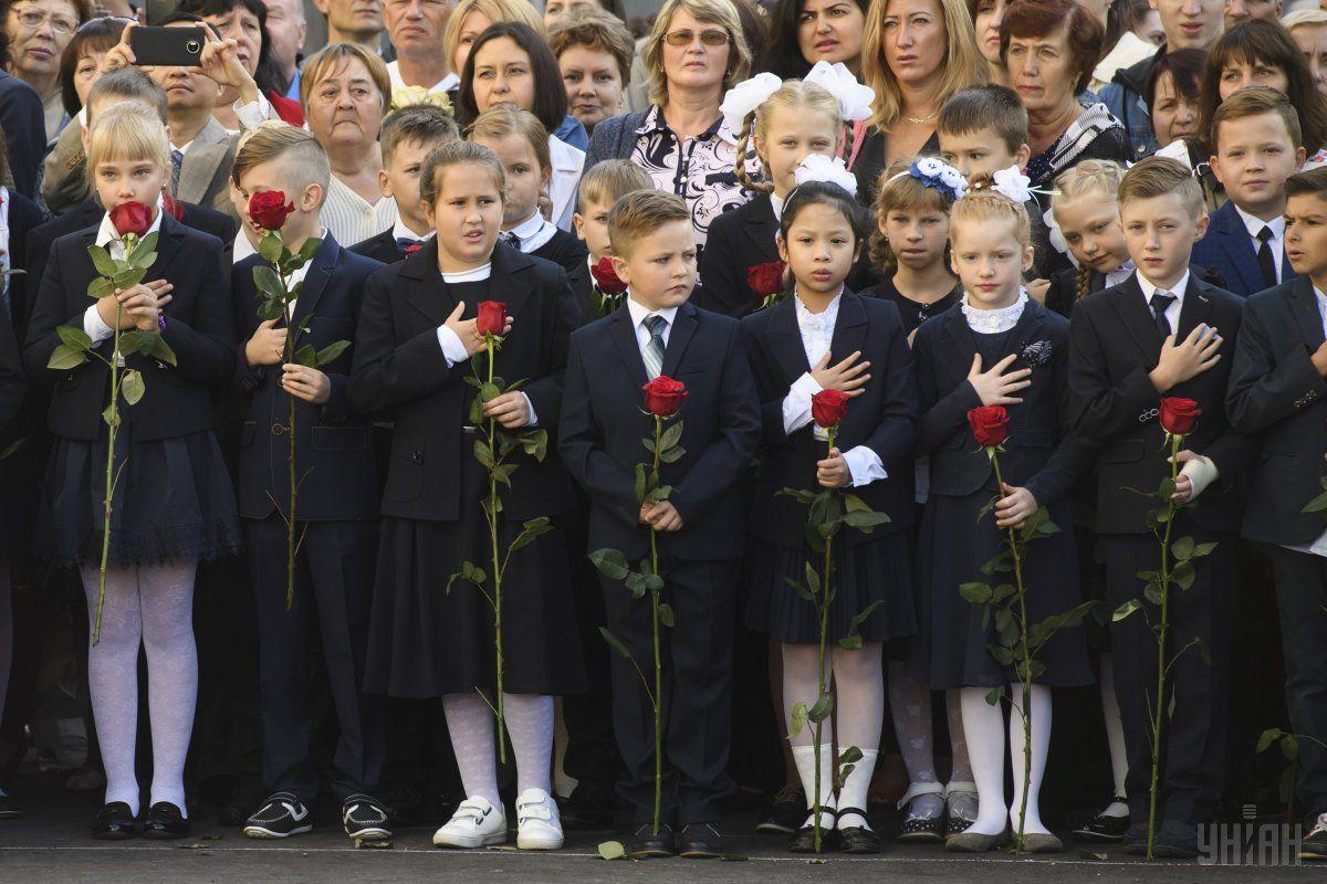 "Через смертьЗахарченко в ""ДНР"" перенесли початок навчального року / фото УНІАН"