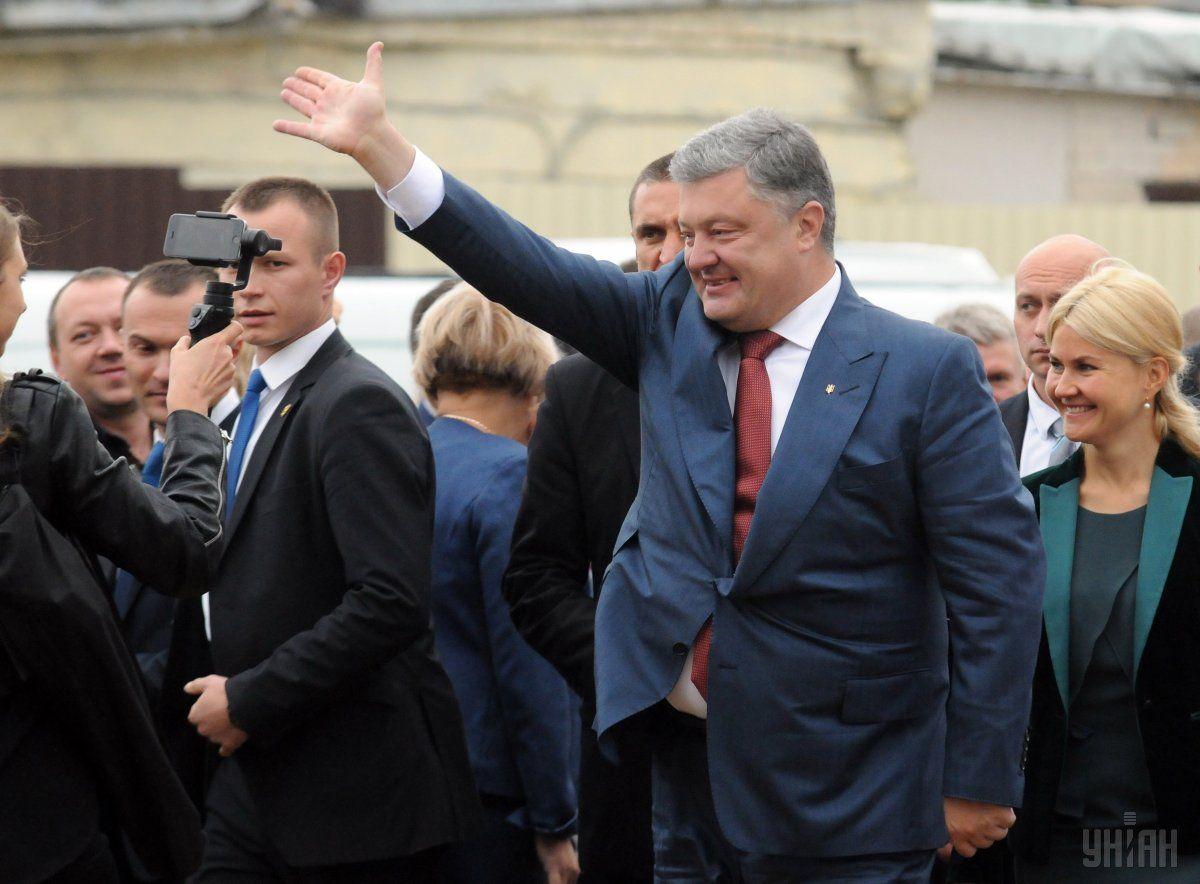 Порошенко хочет основывать свою предвыборную кампанию на перспективе членства Украины в ЕС / Фото УНИАН